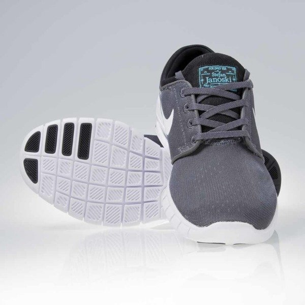 Sneakers buty Nike SB Stefan Janoski Max dark grey / white-black-gmm blue (631303-012)