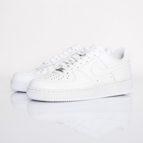 Sneakers buty Nike WMNS Air Force 1 '07 Low white (315115-112)