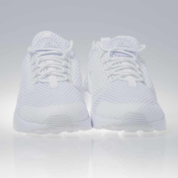 Sneakers buty Nike WMNS Air Huarache Run Ultra BR white / white-pure platinum (833292-100)