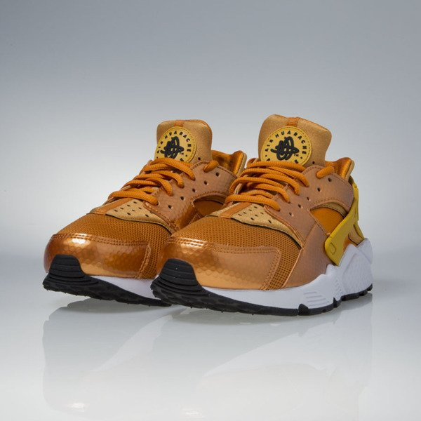 Sneakers buty Nike WMNS Air Huarache Run sunset / gold dark-white-black (634835-701)