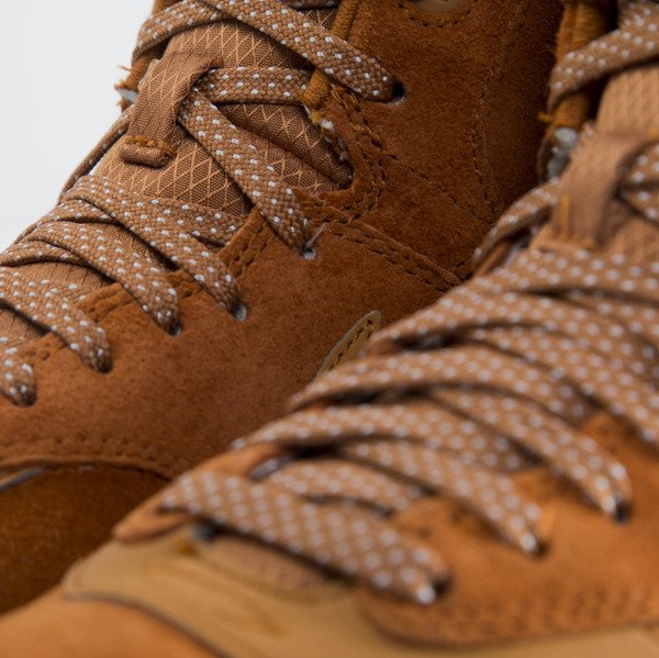 Sneakers buty Nike WMNS Air Max 1 Sneakerboot tawny / tawny - sail - gum med brown (685267-200)