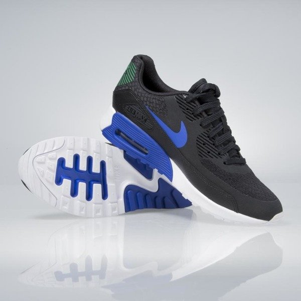 Sneakers buty Nike WMNS Air Max 90 Ultra 2.0 black / paramount blue-white 881106-001