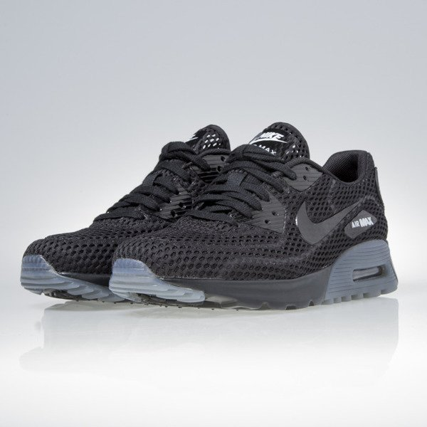 Sneakers buty Nike WMNS Air Max 90 Ultra BR black / black-white (725061-002)