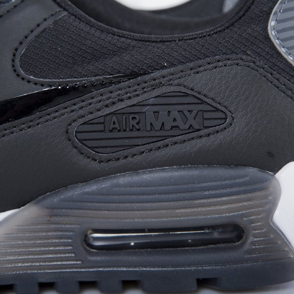 Sneakers buty Nike WMNS Air Max 90 Ultra Essential black / dark grey - pure platinum (724981-007)