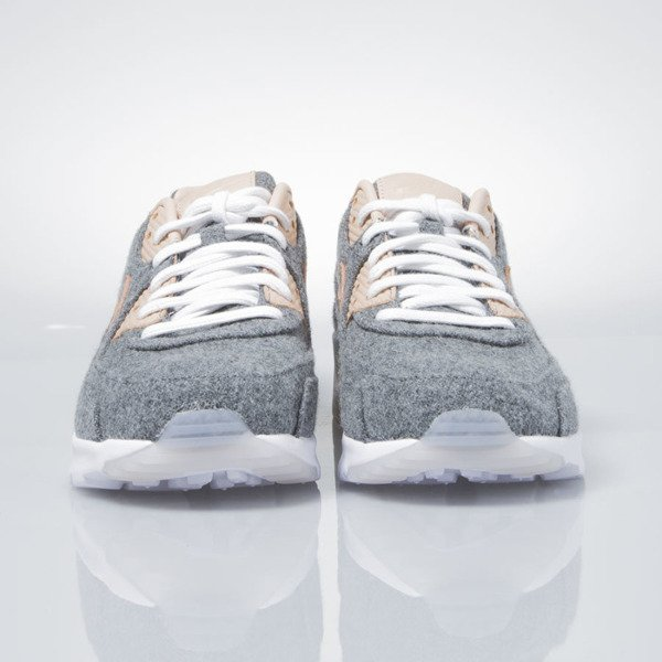 Sneakers buty Nike WMNS Air Max 90 Ultra Premium cool grey / vachetta tan-white 859522-001