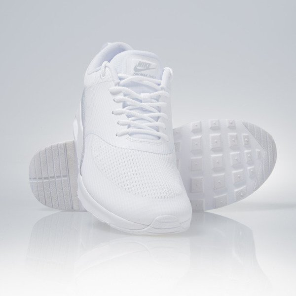 Sneakers buty Nike WMNS Air Max Thea Txt white / white (819639-100)