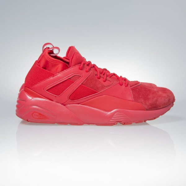 Sneakers buty Puma BOG Sock Core high risk red (362038-03)