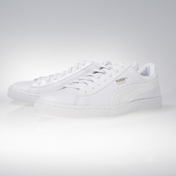 Sneakers buty Puma Basket Classic Animal Croc white (362283-01)