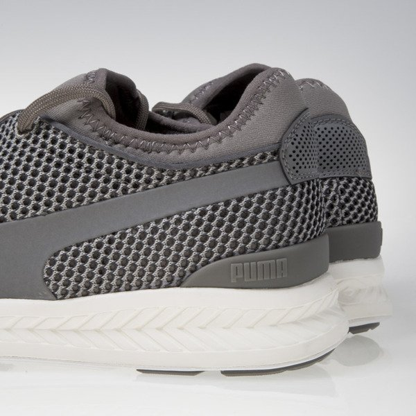 Sneakers buty Puma Ignite Sock Knit steel grey / white 361060-05