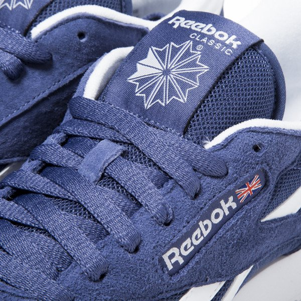 Sneakers buty Reebok Classic Leather IS midnight blue / white (V69421)