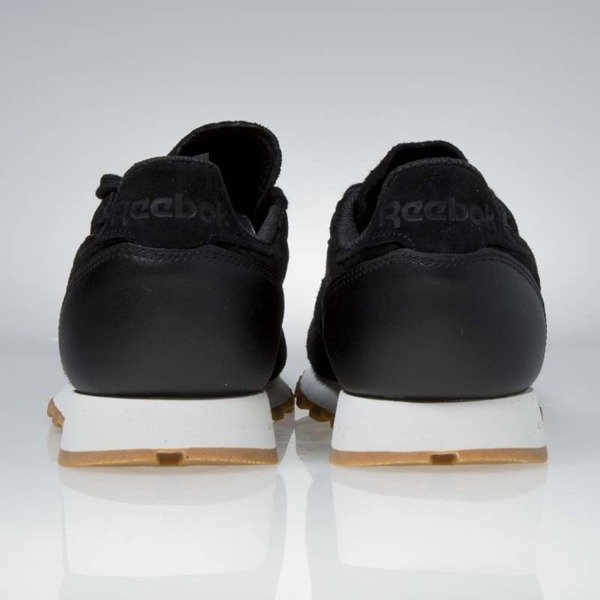 Sneakers buty Reebok Classic Leather SG black / chalk gum BS7892