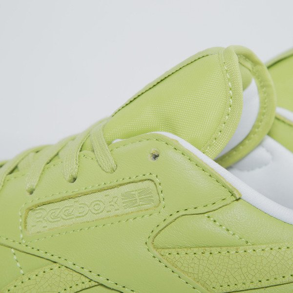 Sneakers buty Reebok Classic Leather Spirit x FACE Stockholm authentic / white / energy (V69387)