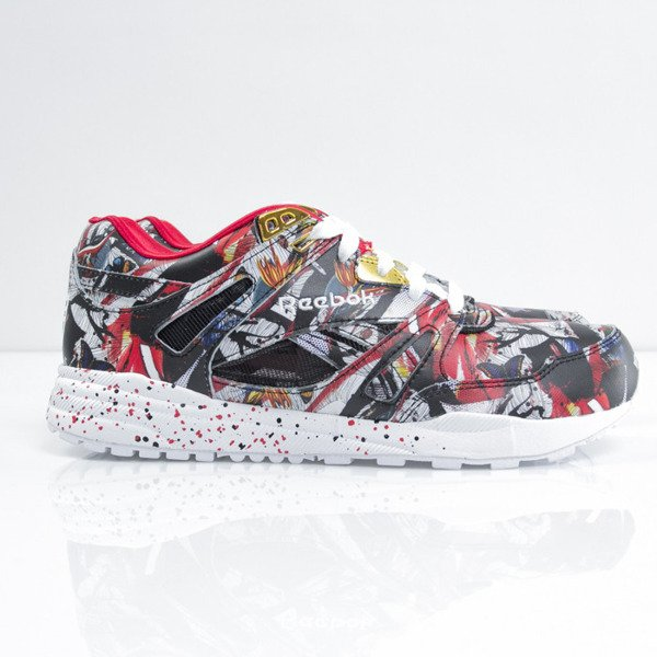 Sneakers buty Reebok Classic VENTILATOR OLKA black / red / gold / white (M48734)