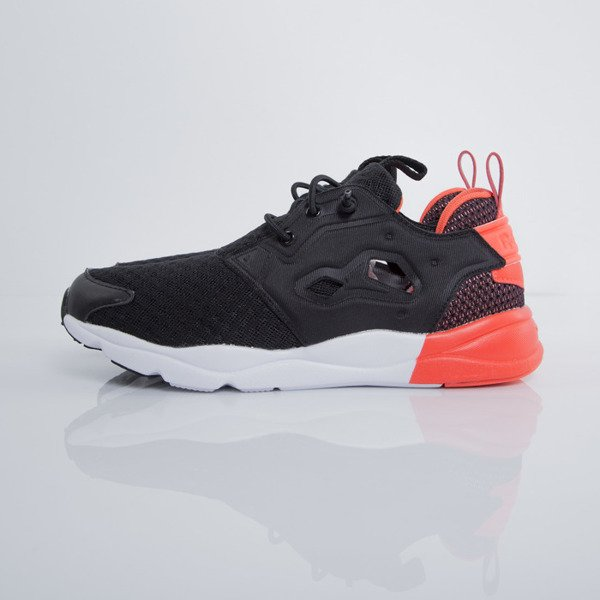 Sneakers buty Reebok Classic WMNS Furylite Pop black / atomic red / white (V72678)