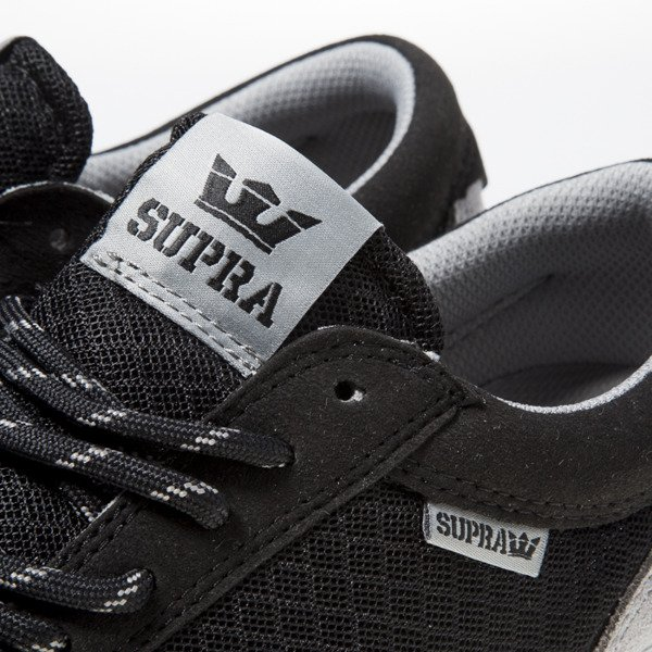 Sneakers buty Supra Hammer Run black / grey-white (S55047)