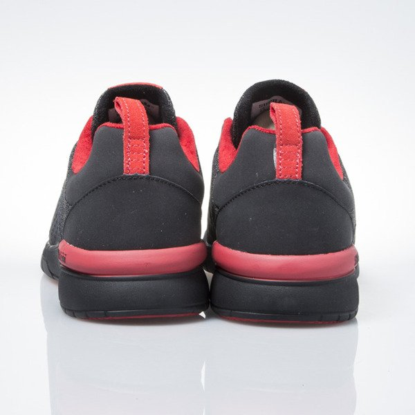 Sneakers buty Supra Scissor black / red-black (08027-052)