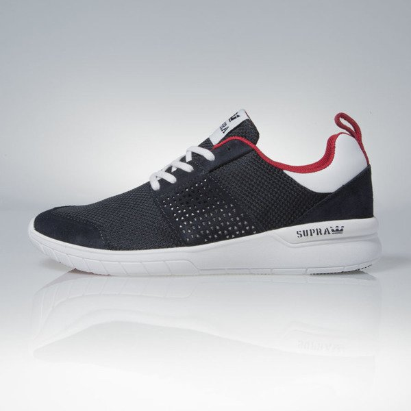 Sneakers buty Supra Scissor navy / red - white (08027-419)