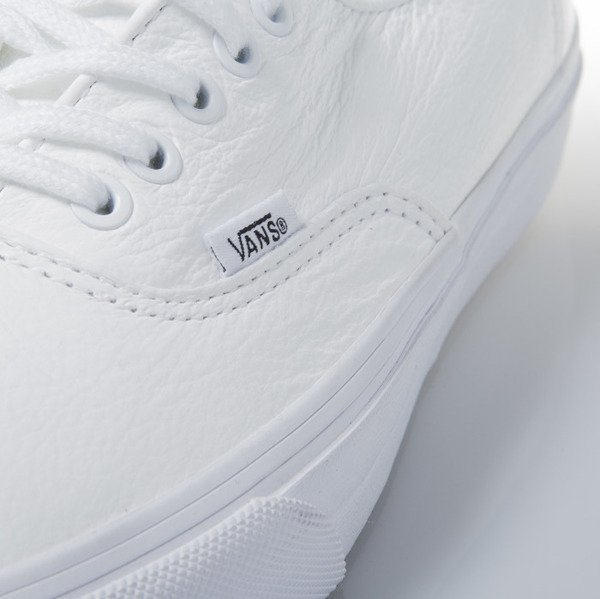 Sneakers buty Vans Authentic Decon (Premium Leather) true white (VN-0 18CEWB)