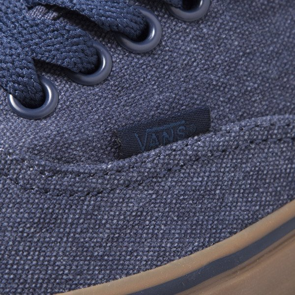 Sneakers buty Vans Authentic (Washed Canvas) bls / gm (VN0004MKIL6)