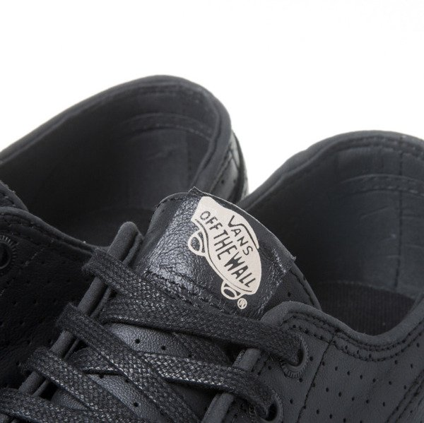 Sneakers buty Vans Brigata + (Perf Leather) black (VN0004OSDJ6)
