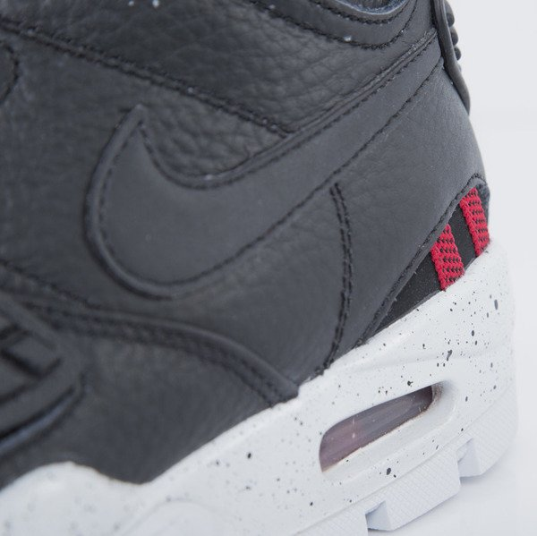 Sneakers buty zimowe Nike Air Trainer SC 2 Boot black / pure platinum - wolf grey (805891-001)