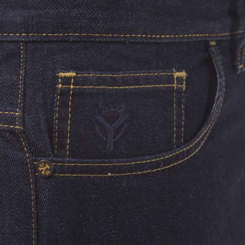 Spodnie Backyard Cartel Jeans Back rinse