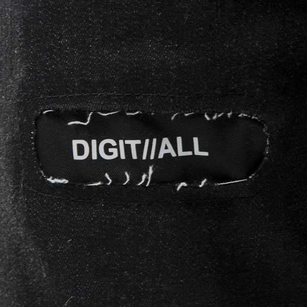 Spodnie Majors Digitall Jeans black