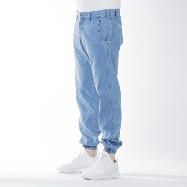 Spodnie Turbokolor Trainer Chino Denim light blue SS16