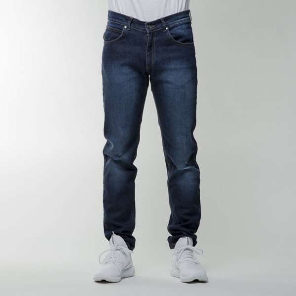 Spodnie We Peace It Navy Jeans navy