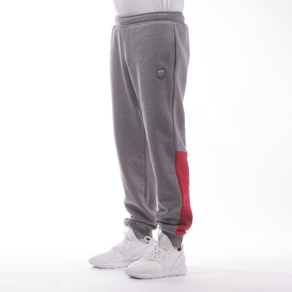 Spodnie dresowe Prosto Klasyk Pants Right mh gray