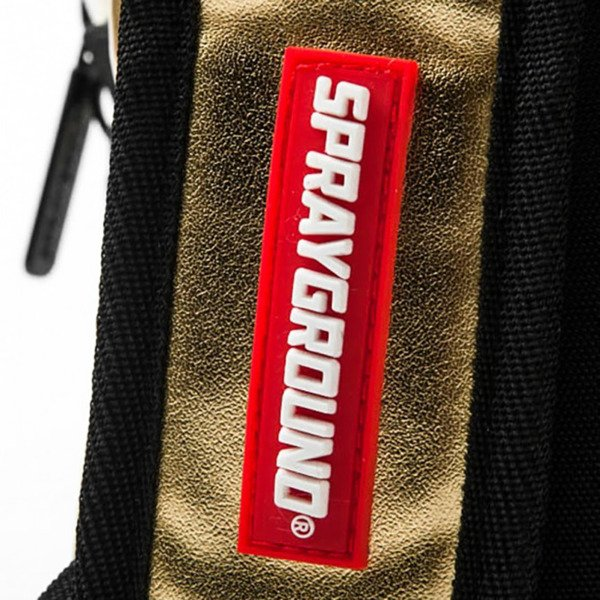 Sprayground plecak Mini Gold Brick gold / black
