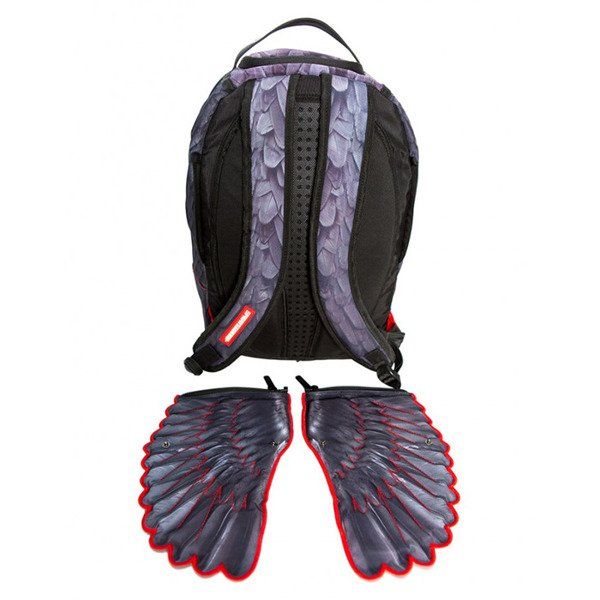 Sprayground plecak Tribal Wings violet / red