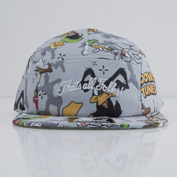 Starter & Looney Tunes czapka 5Panel Yune Camo 5P grey /multicolor (LT-009)