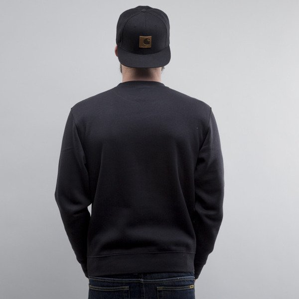Starter bluza LBCP crewneck black / grey heather (ST-SW346)