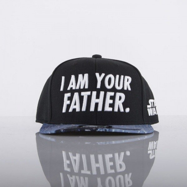 Starter czapka Star Wars snapback black Quote Father