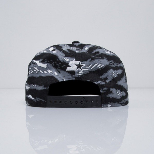 Starter czapka snapback Parental Advisory Core Logo SB black / grey (PA-019)
