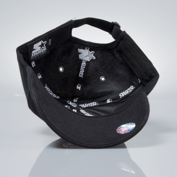 Starter czapka strapback cap Pique Series Pitcher black / silverwolf grey  ST-1166