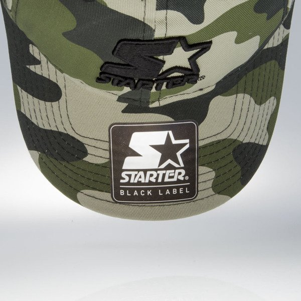 Starter czapka stretch fit Issue Pitcher pastelcamo / black (ST-1241)