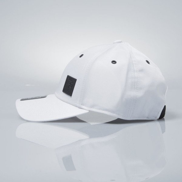 Starter czapka stretch fit cap Signet Pitcher white / black  ST-1226