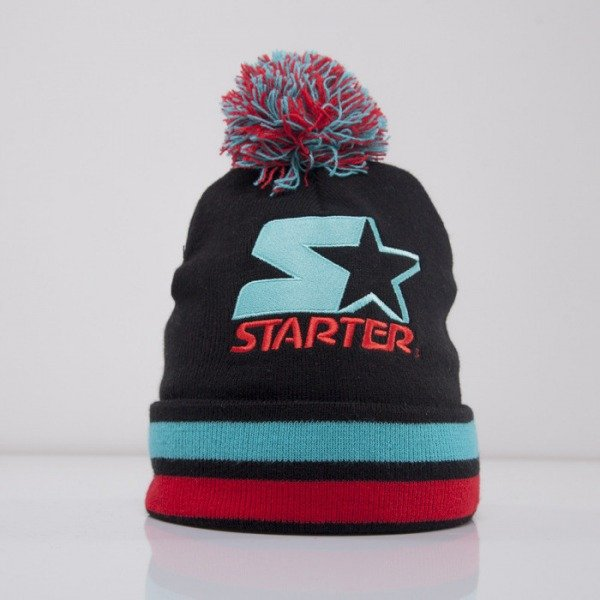 Starter czapka zimowa True Knit black/teal ST436