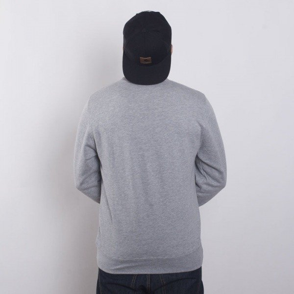 Stussy bluza MLB Crew grey heather