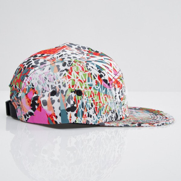 Stussy czapka 5panel Jamrock Camp pink