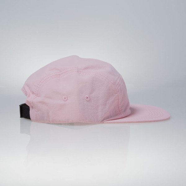 Stussy czapka 5panel Simple Camp pink