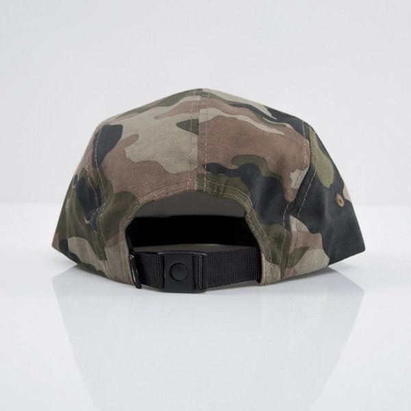 Stussy czapka 5panel Stock Camp olive camo