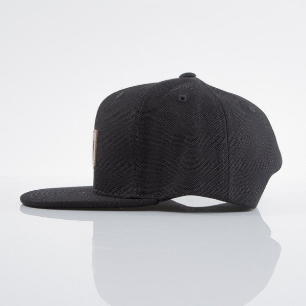 Stussy czapka snapback Duck Canvas black