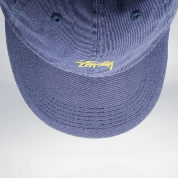 Stussy czapka strapback Stock Low Profile blue