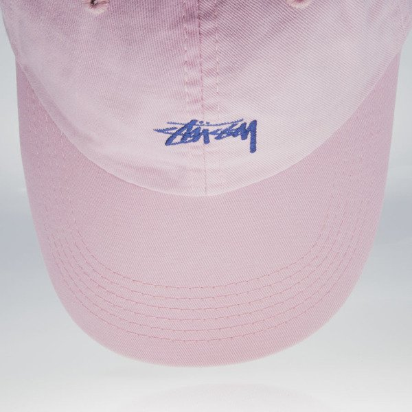 Stussy czapka strapback Stock Low Profile pink