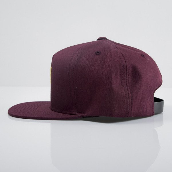 Stussy czapka strapback World Tour Lux burgundy