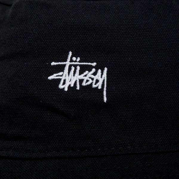 Stussy kapelusz bucket hat Smooth Crusher black