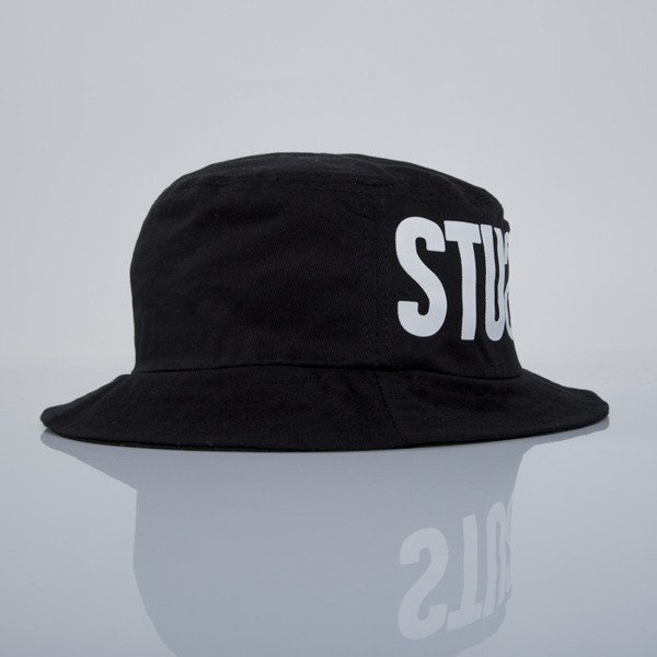 Stussy kapelusz bucket hat Tribe black